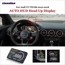 Liandlee Full Function Car HUD Head Up Display For Audi TT TTS RS 2010 Safe Driving Screen OBD Speedometer Projector Windshield цена и фото
