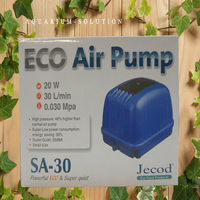 30 LPM JECOD JEBAO SA 30 Low Noise ECO Aquarium Air Pump For Koi Fish Air