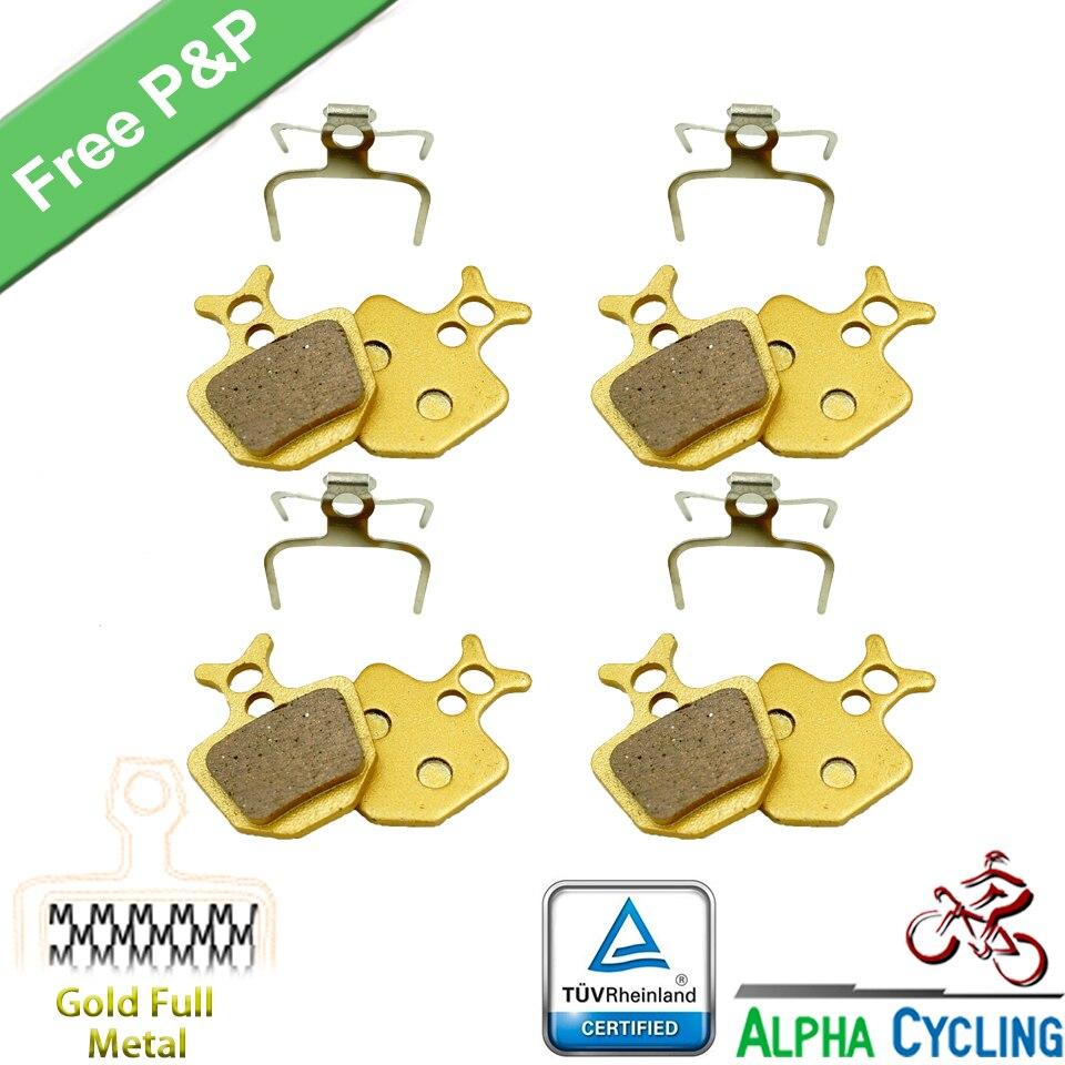 4 PRS Semi Metallic bicycle DISC BRAKE PADS FOR FORMULA ORO K18 ORO K24 ORO PURO