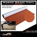30cm x 139cm Braun Auto Sitz Inneren Flex Haltbarkeit Vinyl Stoff Faux Leder Polster Geräusch- & Wärmedämmende Baumwolle    -