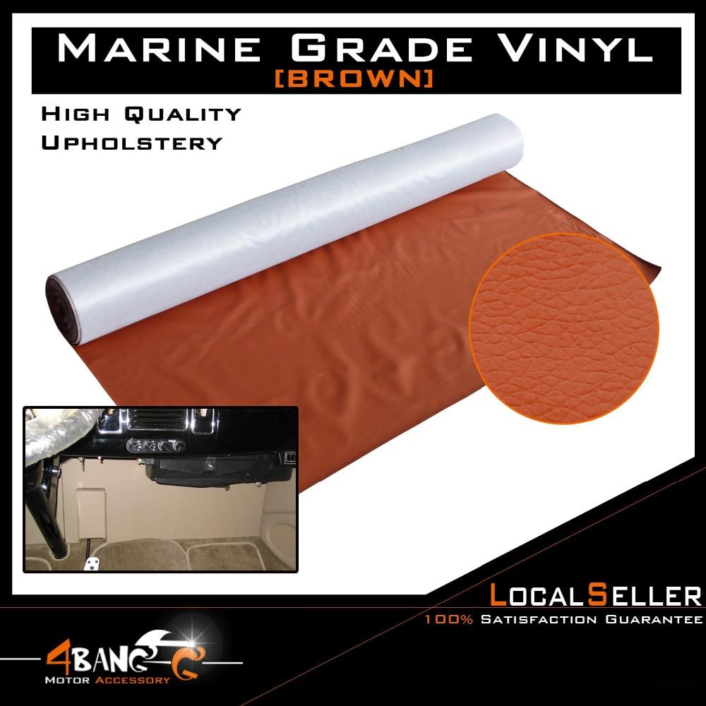 30cm X 139cm Brown Car Seat Inner Flex Durability Vinyl