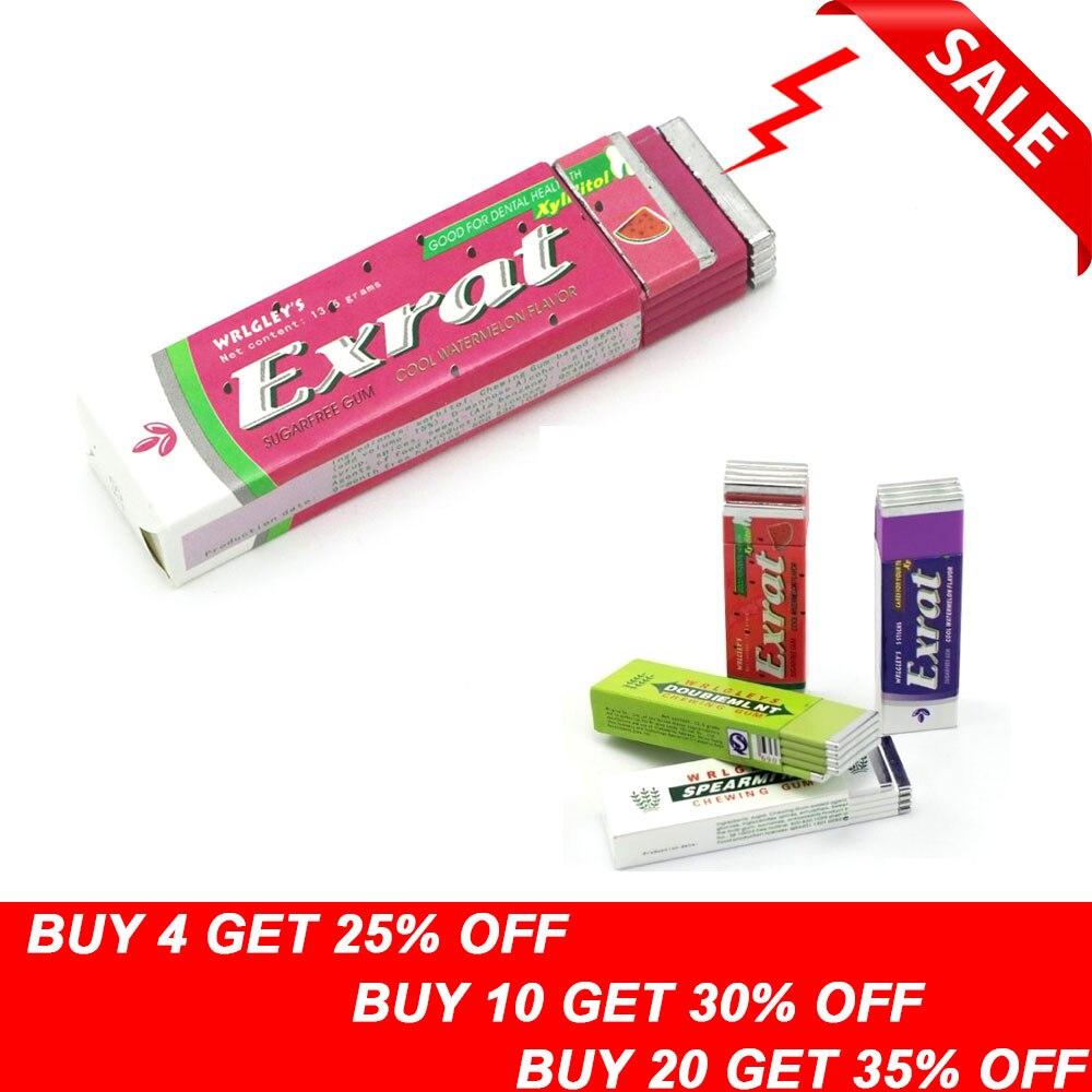 1pcs Electric Shock Joke Chewing Gum Pull Head Shocking Toy Gift Gadget Prank Trick Gag Funny