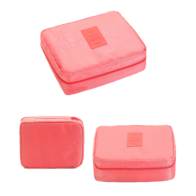 High Quality Portable Women Make Up Cosmetic Bag  5