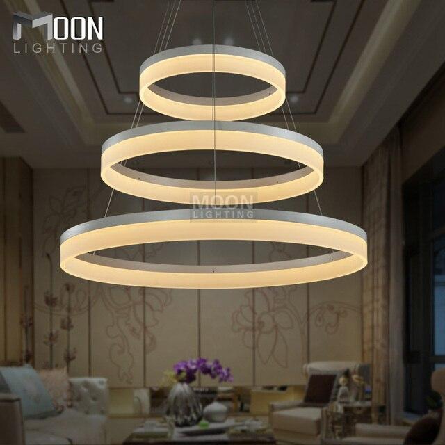 LED Pendant Lights Modern Round Lamp Light For Living Room