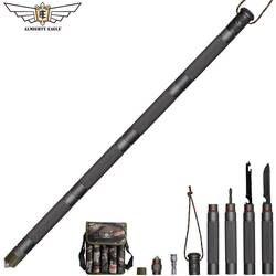 Всемогущий Орел наружная защита тактическая ручка альпеншток снаряжение для походов, скалолазания многоцелевой складной инструменты