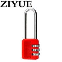 Free Shipping Long Code Lock Lock Hook Liang Shuchu Locker Display Cabinet Handle Zinc Alloy Metal