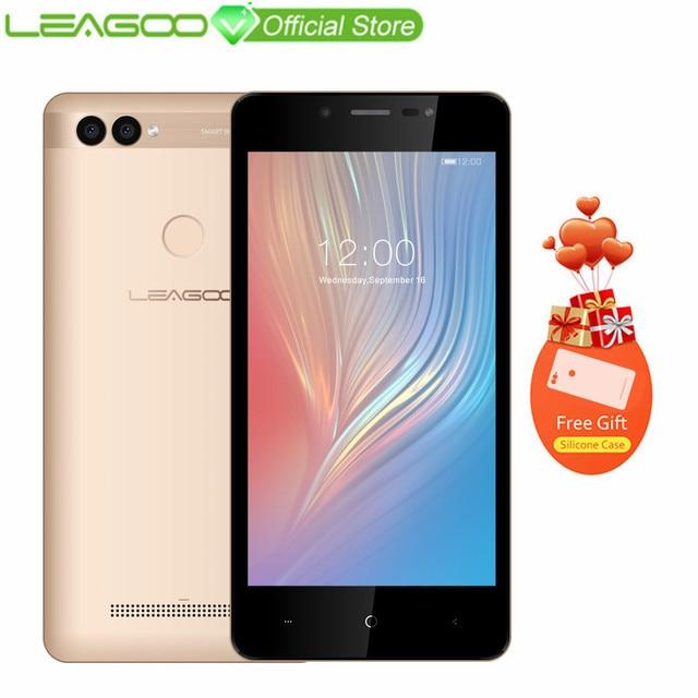 """LEAGOO мощность 2 Мобильный телефон 5,0 """"HD ips Оперативная память 2 ГБ Встроенная память 16 ГБ Android 8,1 mt6580a четыре ядра двойной Камера сзади отпечатков пальцев Смартфон 3G"""