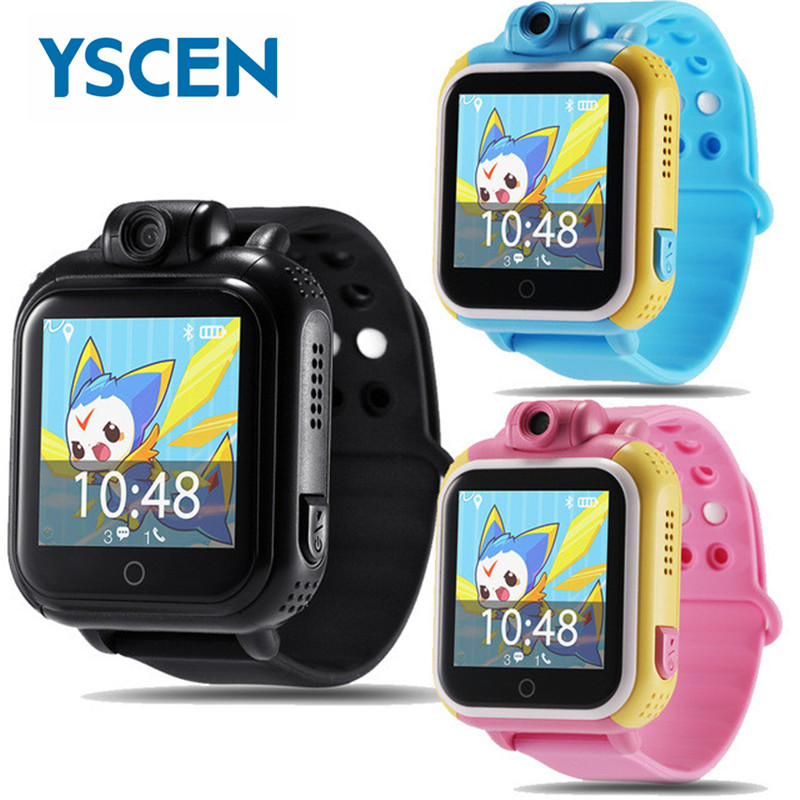 NO.1 2017 Newest Smart watch Kids Wristwatch Q730 3G GPRS GPS Locator Tracker Smartwatch Baby Watch With Camera For IOS Android