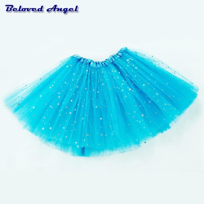Baby Tutu Skirt Girl Skirts Kids Net Yarn Chiffon Tulle Skirt Children's Performance Clothes Girls Ballet Dancing Party Skirt 5