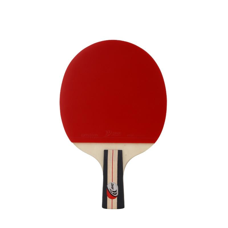 1 Pcs Pingpang Fledermaus Grip Tischtennis Schläger Schnelle Doppel Reverse Kleber Tischtennis Gute Schläger Einzigen Schuss