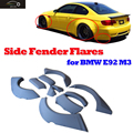 E92 M3 PU Side Mudguard Fender Flare Wheel Arch Cover For BMW E92 M3 2008 2009 2010 2011 2012