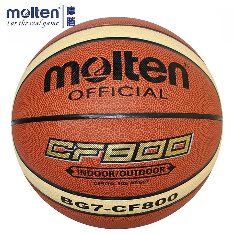 Original Molten Basketball Ball BG7X-CF800 Brand High Quality Genuine Molten PU Material Official Size7 Basketball
