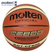 цена Original Molten Basketball Ball BG7X-CF800 Brand High Quality Genuine Molten PU Material Official Size7 Basketball онлайн в 2017 году