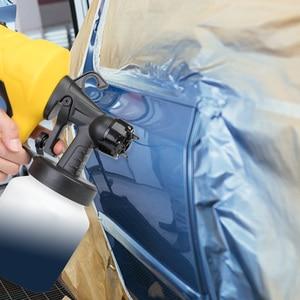 Image 5 - Boquilla de 800ML y 2,5 MM, PISTOLA DE PULVERIZACIÓN manual, pulverizadores de pintura potente para limpiar espray, pesticida, Control de flujo, aerógrafo eléctrico