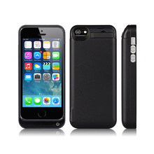 Multi-functional Power Bank Protector Case 4200mah Battery Case for iPhone 5,5S,5C With USB Port
