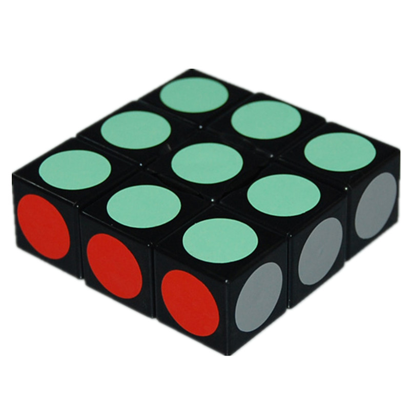 Brand New 1x3x3 Speed Puzzels Smooth Magic Cube Black Educatief Speelgoed Speciaal Speelgoed