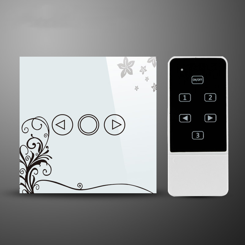 LED Dimmer EU Standard Crystal Touch Glass and Remote Control Light Dimmer Switch Touch Screen Dimmer Switch Smart Switch minitiger 1 gang eu standard wall light touch dimmer switch smart switch led dimmer switch for dimmable spot lights t601a t601b
