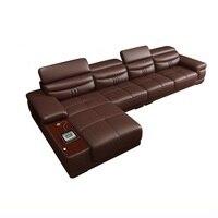 Koltuk Takimi Puff Futon Copridivano Sectional Divano Recliner Leather Set Living Room Furniture Mobilya Mueble De Sala Sofa