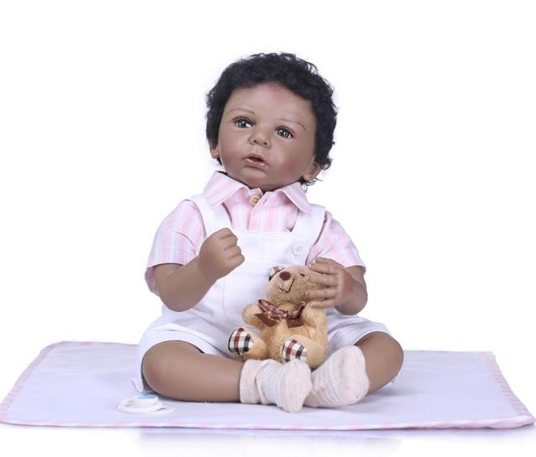 50cm Bebe Reborn Doll Soft Silicone Girl Toy Vinyl Reborn Babies Dolls Gift for Children s