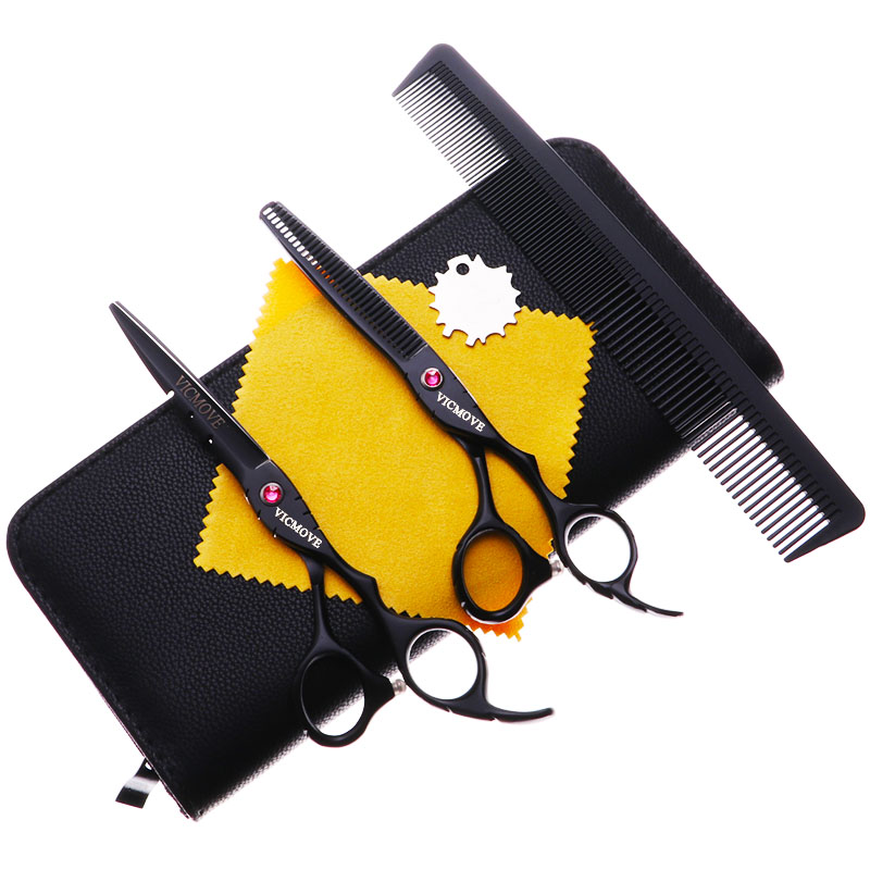 6 39 39 Japan 440C Steel Barber Hairdressing Scissors Cutting Shears Thinning Scissors Professional Human Hair Scissors in Hair Scissors from Beauty amp Health
