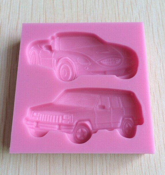 DIY 3D Car Shaped Silicone Mold