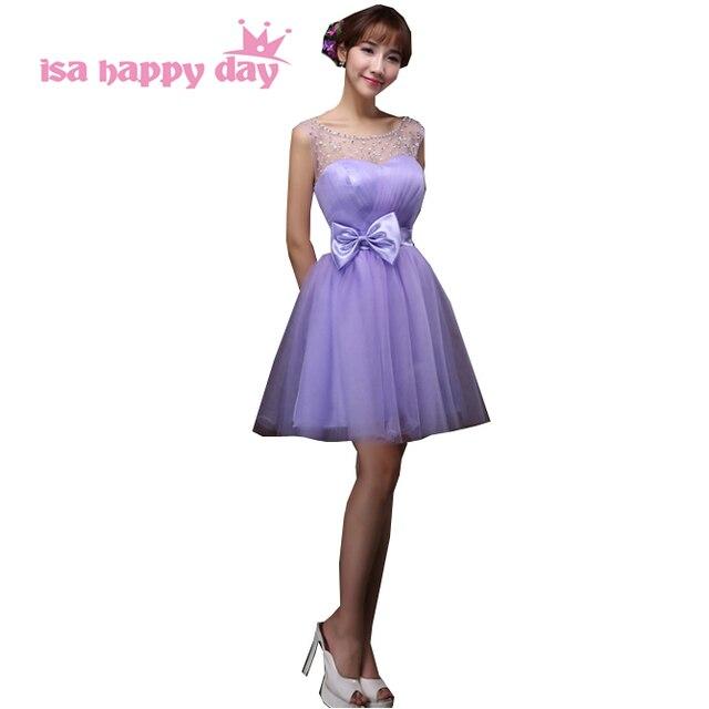 Jugendliche bridesmades lavendel elegante korsett brautjungfer tüll ...