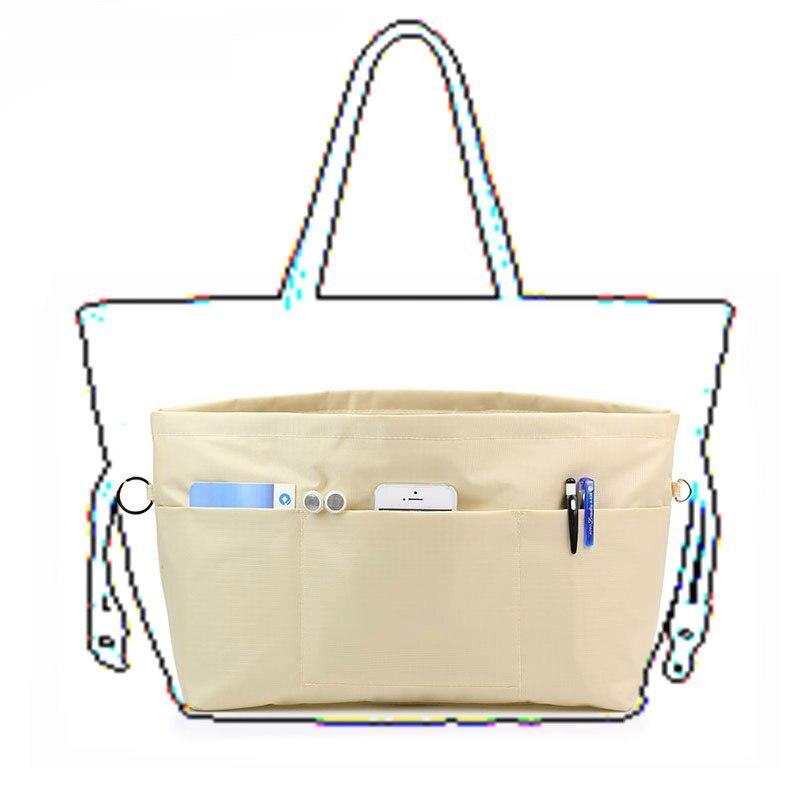 Women Travel Insert Handbag Organizer Pockets Storage Cosmetic Inner Bag Fashion Obag Accessories Handbag O Bag Inner Bag