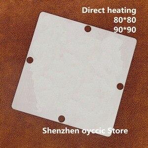 Image 2 - Direct heating 80*80  90*90 GDDR5X  D9VRL D9VRK  D9TXS  D9V  190FBGA  memory BGA Stencil Template
