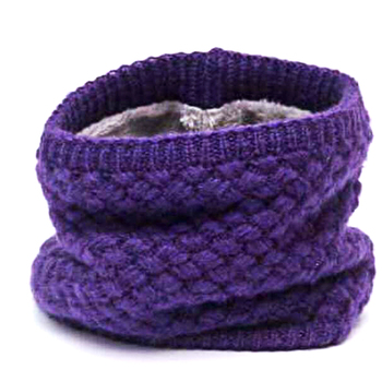Winter Neck Warmer O Ring Scarf Women Knitting Infinity Scarves Knitted Warm LIC Circle Children's Boys Girls Neckerchief kids