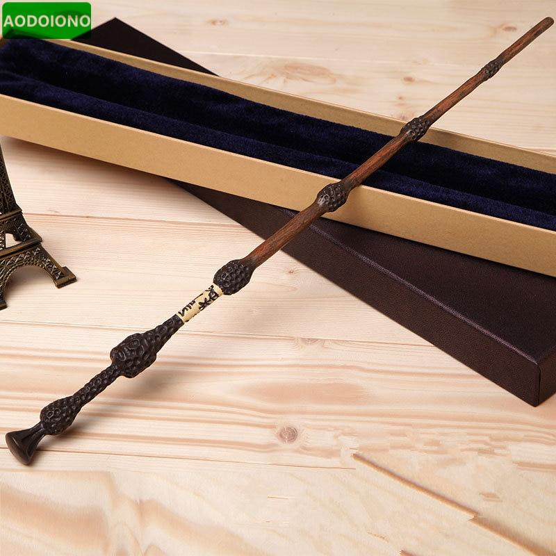 Metal Core Albus Dumbledore Magic Wand Harry Potter Magical Wand Harry Potter Stick High Quality Gift Box Packing