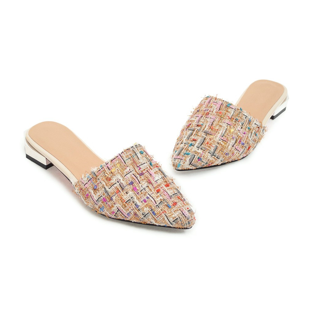 ... big size 33-43. . ASUMER fashion pointed toe casual 2018 summer ladies  shoes square heel mules comfortable women low heels. sku  32860134088 560174b9a787