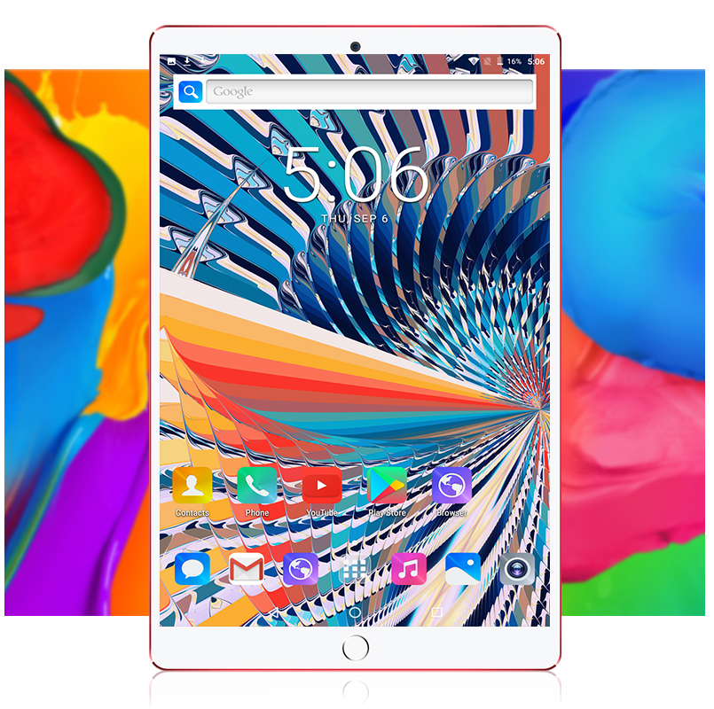 Newest 10 Inch 4g Lte Phone Call Octa Core 4gb Ram 32gb Rom Android 10.1 Tablet Pc 32gb 1280*800 Ips Wifi Video Football World