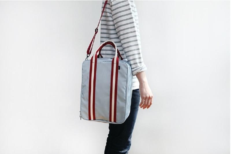 Business men Women travel necessaries bag Portable clothes organizer bag crossbody big capacity brand storage bags 2 colors