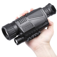 5x40 Hunting Infrared Digital Night Vision Monocular Telescope High Magnification With Video Output Function Adjustable Focus