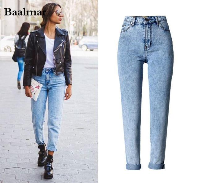 Baalmar Mom Jeans For Women 2017 New Summer High Waist