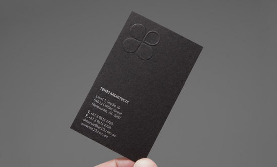 2016 Discount Vertical Design Embossed Business Card Custom Printing Double Side Matt Black Visit Name Hot Sale Low Prices In Cards From