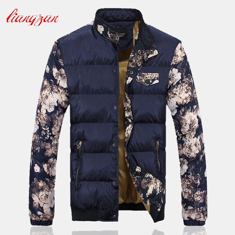 Men Winter Cotton Jacket And Coats Winter Snow Warm Stand Collar Overcoats Brand Male Slim Fit Plus Size Parkas SL-K188 free shipping winter parkas men jacket new 2017 thick warm loose brand original male plus size m 5xl coats 80hfx