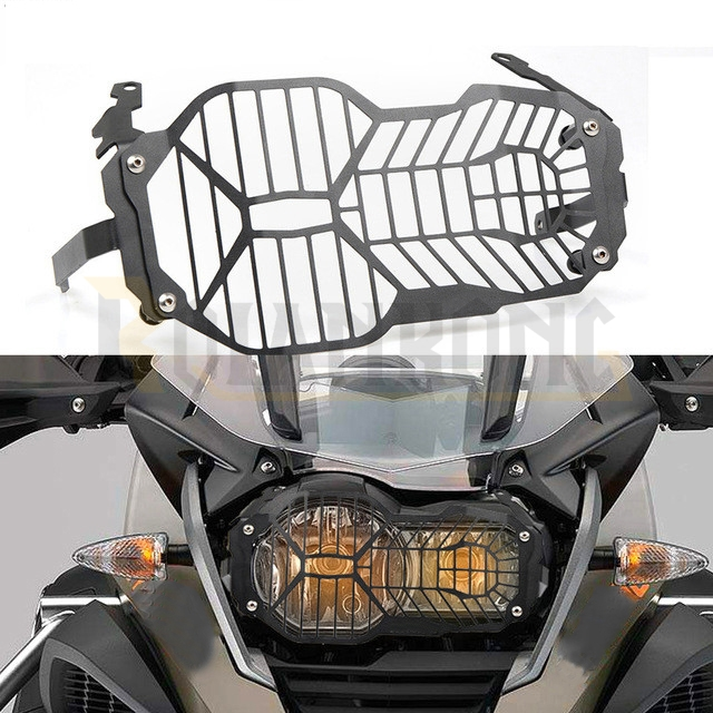 For BMW R1200GS R 1200 GS LC / Adventure R1200 GS 2012-2018 Motorcycle Headlight Protection Grill Protection Cover 2013 -2016For BMW R1200GS R 1200 GS LC / Adventure R1200 GS 2012-2018 Motorcycle Headlight Protection Grill Protection Cover 2013 -2016