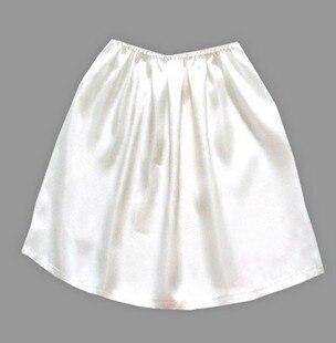 100% Mulberry Silk Heavy Silk Petticoat Render  Skirts A Skirt Prevent Exposure Petticoat, The Crepe Satin Material