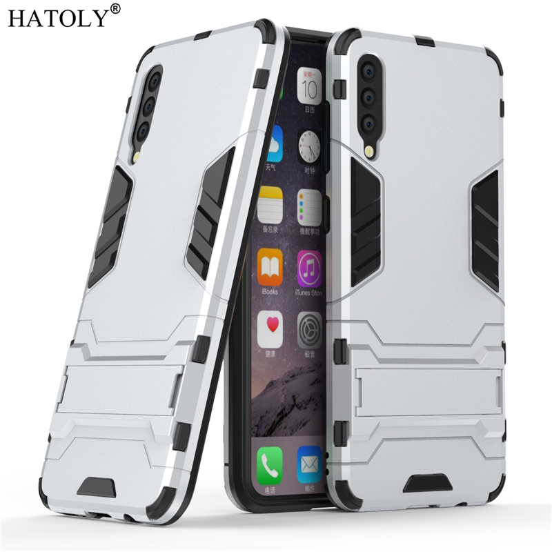 Image 2 - For Samsung Galaxy A70 Case Soft Silicon + Hard PC Cover Shockproof Armor Bumper Case For Samsung A30 A40 A50 A60 A70 A80 Case-in Fitted Cases from Cellphones & Telecommunications