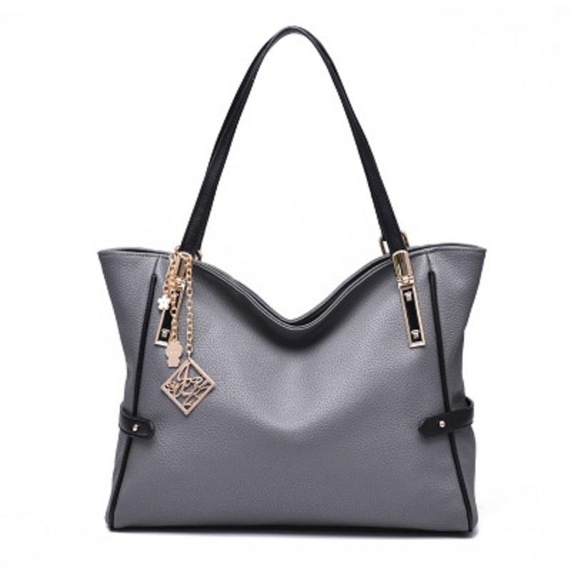 ФОТО The new 2016 women shoulder messenger bag female handbags European and American style simple fashion solid crossbody bags BH1376