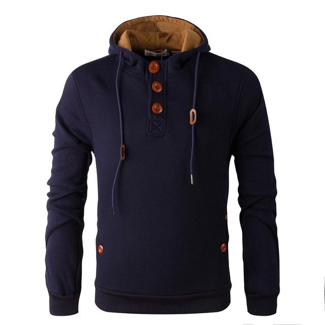 2017 NEW brand  hoodies men fleece Fashion men's warm Hoodies Sweatshirts, Suit Hoody jacket 5 colors