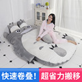 Totoro lazy sofa bed Single cartoon tatami mats Lovely creative small bedroom sofa bed chair
