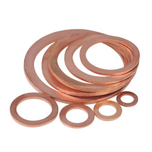 Copper gasket Flat washer Seal ring M5-6-8-10-12-14-16-24-27-30-33-36-48(China)