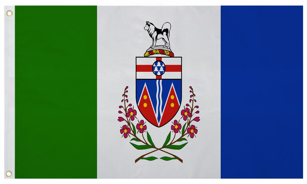 Fahne Kanada Britisch Kolumbien Flagge kanadische Hissflagge 90x150cm