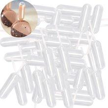 50 шт./лот, 4 мл, пластиковые пипетки для переноса, пипетки, одноразовые пипетки для клубничный кекс, мороженое, шоколад