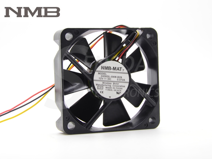 """NMB 2406GL-04W-B29 TV HL50A650C1FXZA Ventilador DMD con cable de 17 """"PT-44LCX65 ventilador de enfriamiento"""