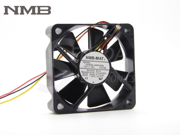 "NMB 2406GL-04W-B29 TV HL50A650C1FXZA Fan ventilator DMD cu ventilator 17 ""PT-44LCX65"