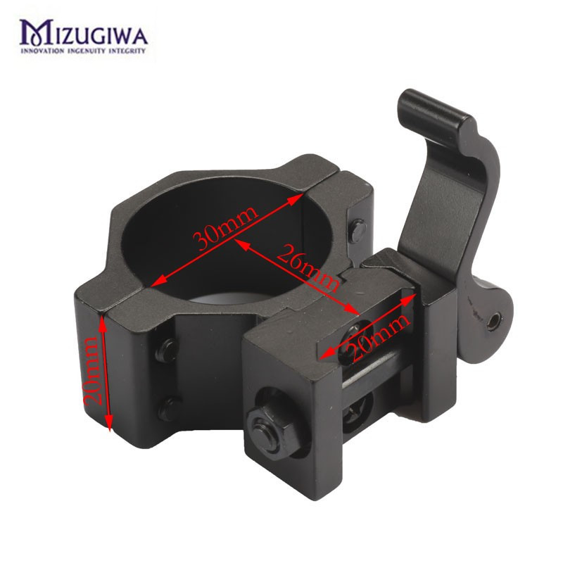 Sports & Entertainment Fire Wolf 1 25.4 30 Mm High Ring 20mm Weaver Picatinny Rail Qd Quick Release Scope Mount Available In Various Designs And Specifications For Your Selection Scope Mounts & Accessories
