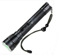 De alta Qualidade poderoso cree xml t6 led superbright lanterna lanterna de iluminação para a caça ao ar livre equitação